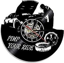 Horloge murale mécanique pour garage et garage -