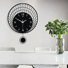 Horloge murale moderne décor de grande montre