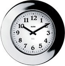 Horloge murale Momento - Alessi métal en métal