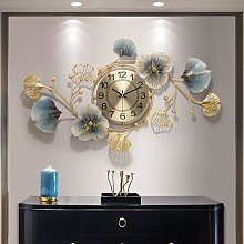 Horloge murale numérique en métal 3D,