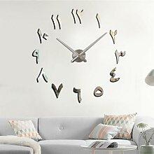 Horloge murale numérique indienne, style