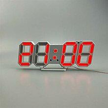 Horloge murale numérique LED Accueil Décoration