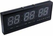 Horloge Murale Numérique LED Horloge avec