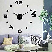 Horloge Murale Oiseau Auto-Adhésif 3D Acrylique