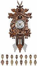 Horloge murale Quartz Coucou Forêt Noire maison,