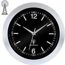 Horloge murale / radio-pilotée - Ø30cm - avec