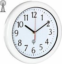 Horloge murale / radio-pilotée étanche,