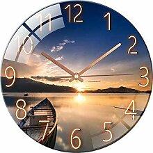 Horloge murale radio-pilotée silencieuse - Design