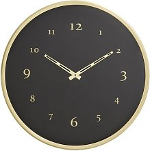 Horloge murale Saisy en métal