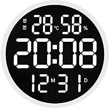 horloge murale Salon de conception simple LED