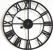 Horloge murale silencieuse à mouvement solaire,