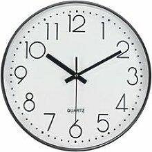 Horloge Murale Silencieuse Pendule Murale 30CM