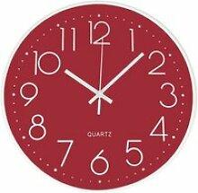 Horloge Murale Silencieuse sans Tic Tac Horloge