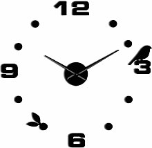 Horloge Murale Simple Décoratif Bricolage Oiseau