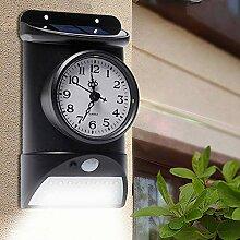 Horloge Murale Solaire extérieure de Jardin IP44