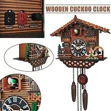 Horloge murale Vintage coucou, réveil, Style