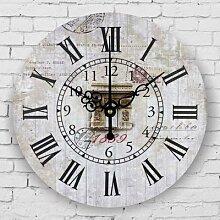 Horloge murale vintage style européen,