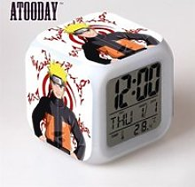 Horloge,Naruto jouet multifonction, tactile,