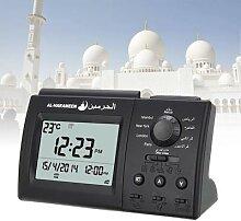 Horloge numérique automatique de prière, alarme