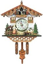 HORLOGE - PENDULE Pendule à coucou en bois 1