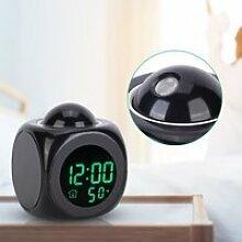 Horloge Projection réveil réveil numérique