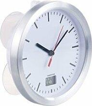 Horloge radio-pilotée de salle de bains avec