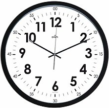 Horloge silencieuse Ø40cm 11251 Noir