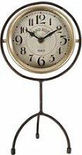 Horloge sur Pied Pendule à Poser Index Heures