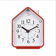 Horloge Table Vintage Coucou Oiseaux Créatif