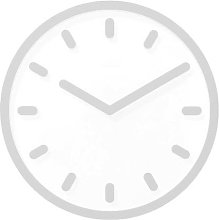 Horloge TEMPO de Magis, Gris