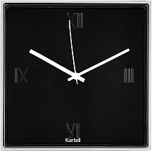 Horloge TIC&TAC de Kartell, Noir