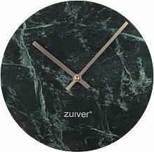 Horloge Time en marbre vert