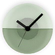 Horloge TOLIX Time de Tolix, Vert anis/Romarin