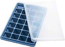 HOTPINK1 Bac à glaçons en silicone avec 28