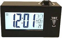 Houkiper Horloge de Projection Numérique
