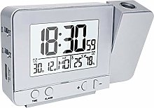 Houkiper LED Horloge de Projecteur, Réveil