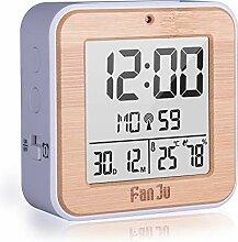 Houkiper Multifonction réveil numérique, Horloge