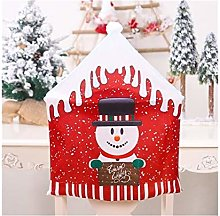 Housse de chaise de Noël Père Noël pour table