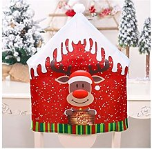 Housse de chaise de Noël pour table de dîner
