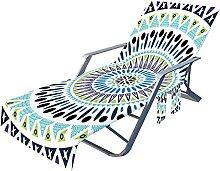 Housse de chaise de plage, housse de chaise longue
