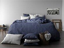 Housse de couette Bleu 240x220 953010 - Bâton
