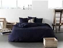 Housse de couette Bleu Foncé 240x260 981090 -