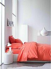 Housse de couette Rouge 240x220 C Design Home