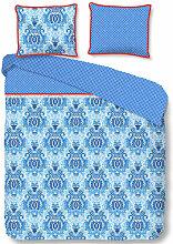 Housse de couette YOGI 240x200/220 cm Bleu -