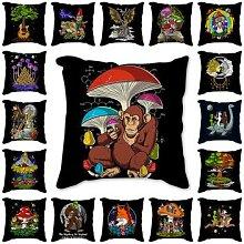 Housse de coussin dessins animés, décoration de