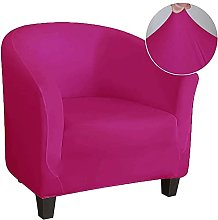 Housse de fauteuil en tissu lisse Housse de chaise
