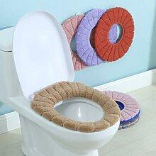 Housse de siège de toilette confortable, en