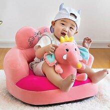 Housse de siège en peluche pour bébé, Support