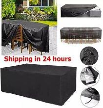 Housse imperméable pour meubles de jardin,