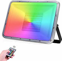 HPDOM 30W/50W/100W Projecteur LED RGB Extérieur